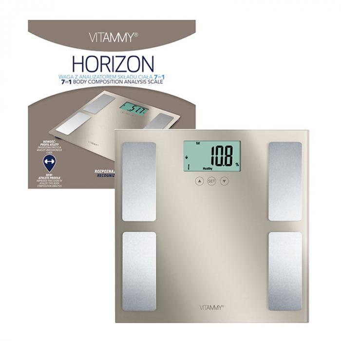 Cantar corporal Vitammy Horizon, Electronic, Auriu [4]