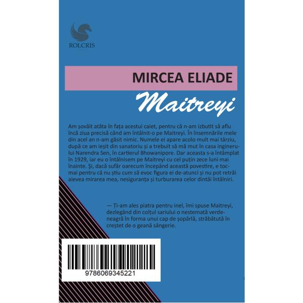 Maitreyi - Mircea Eliade 1