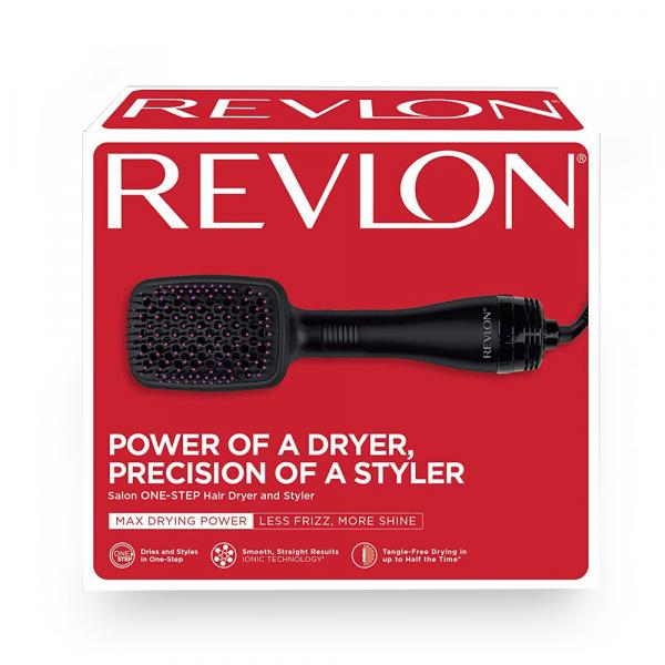 Perie electrica de par REVLON One-Step Hair Dryer & Styler, RVDR5212E2, ionizare, 2 trepte de temperatura 2