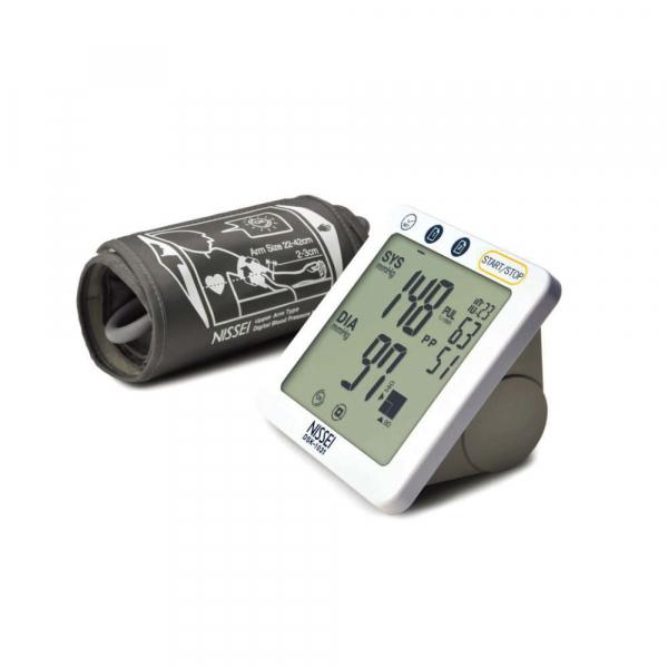 Tensiometru electronic de brat Nissei DSK-1031, memorare 60 de seturi, afisaj LCD, detectie aritmie si body motion 1