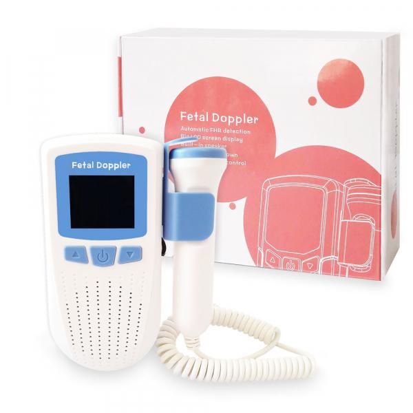 Monitor Fetal Doppler RedLine AD51C, pentru monitorizarea functiilor vitale, alb/albastru 3