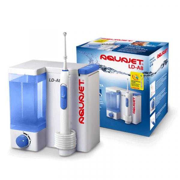 Irigator bucal Little Doctor Aquajet LD A8 pentru adulti, profesional, 1200 impulsuri/min, 4 duze incluse, alb 3