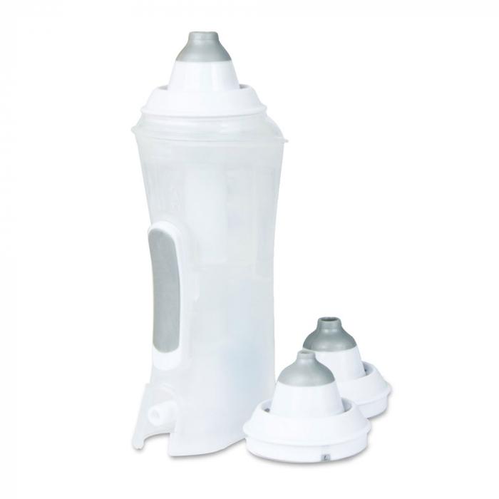 Irigator nazal FLAEM Rhino Clear Ergo Plus compatibil cu aparatele de aerosoli cu compresor, pentru curatarea cailor nazale [1]