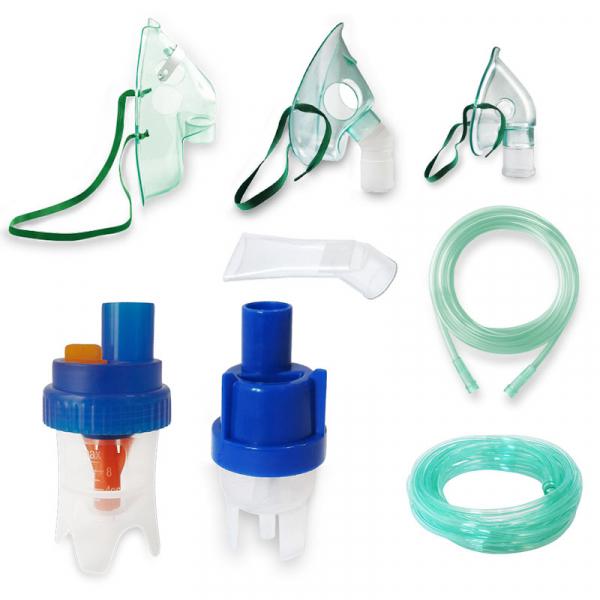 Kit accesorii universale RedLine Combo pentru aparatele de aerosoli cu compresor, 2 pahare de nebulizare, furtun 6m si 2m 0