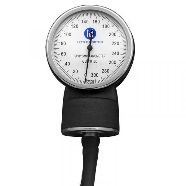 Tensiometru mecanic Little Doctor LD 71A, profesional, stetoscop atasat, manometru din metal 2