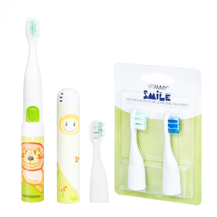 Pachet periuta de dinti electrica VITAMMY Smile plus set rezerve [0]