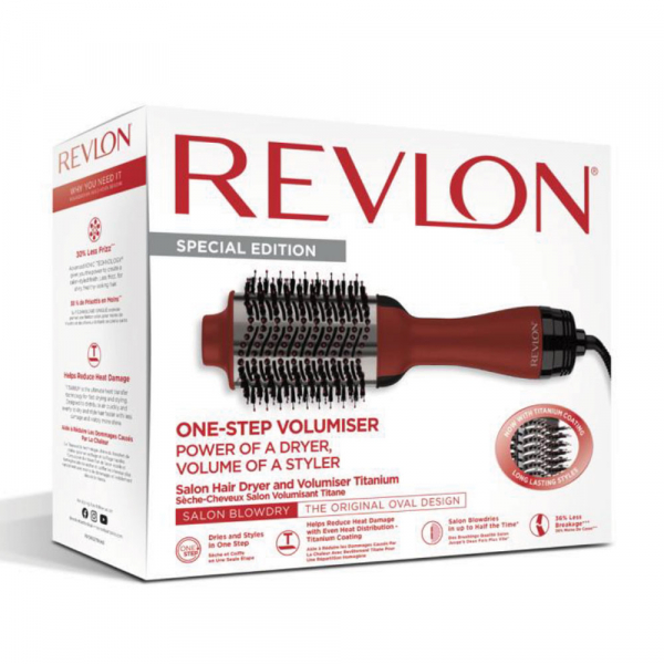 Perie electrica fixa REVLON Pro Collection One-Step Volumiser Titanium, RVDR5279UKE, 3 trepte de temperatura 4