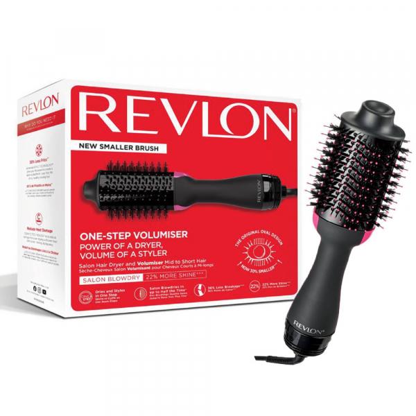 Perie electrica fixa REVLON Pro Collection pentru par scurt si mediu One-Step Hair Dryer and Volumiser, RVDR5282UKE 0