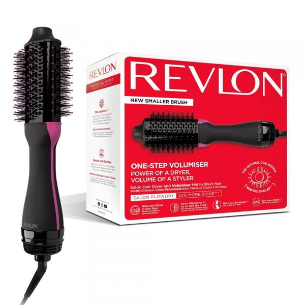Perie electrica fixa REVLON Pro Collection pentru par scurt si mediu One-Step Hair Dryer and Volumiser, RVDR5282UKE 5
