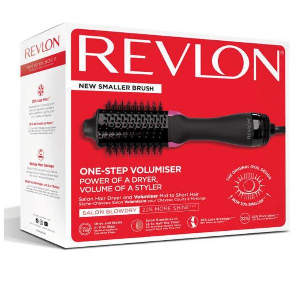 Perie electrica fixa REVLON pentru par mediu spre scurt One-Step Volumiser, RVDR5282UKE 4
