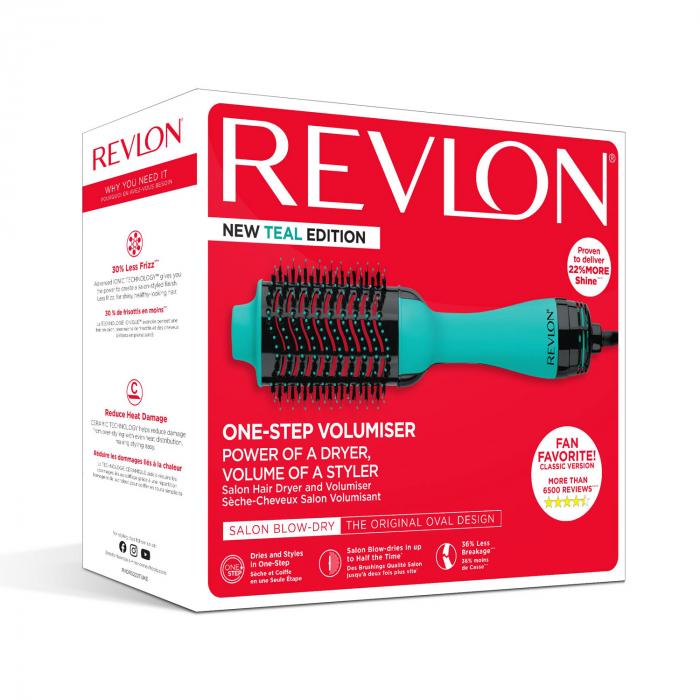 Perie electrica fixa REVLON One-Step Hair Dryer & Volumizer, RVDR5222TE TEAL [5]