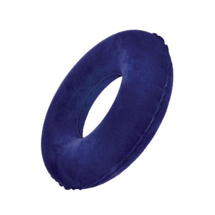 Perna-inel ortopedic pentru sezut Sanity Komfort, ideal pentru pozitii comode de alaptare si relaxarea spatelui la birou, in masina sau pe canapea [4]
