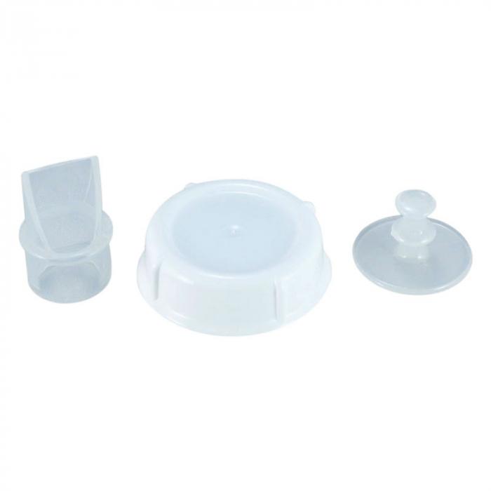 Pompa manuala de san Sanity Easy Comfort, cu clapeta, biberon si tetina BPA free [3]