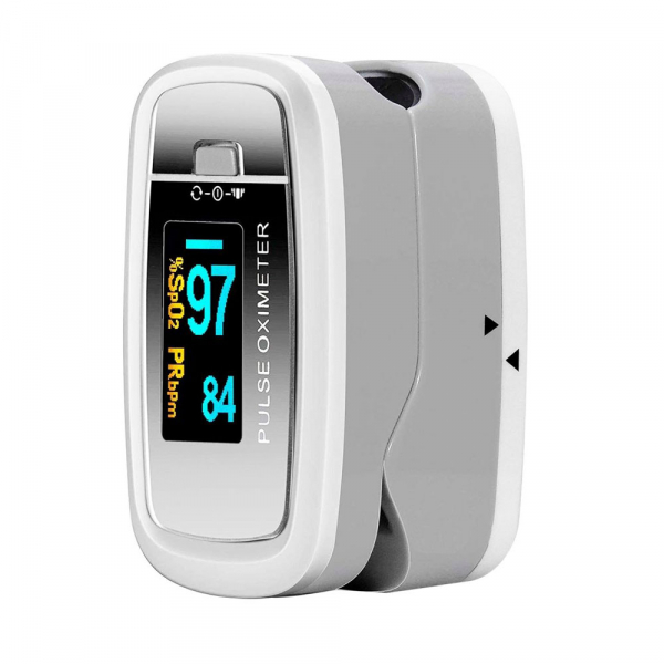 Pulsoximetru Contec CMS50D1, indica nivelul de saturatie a oxigenului din sange, masoara rata pulsului 6