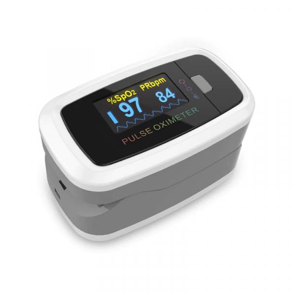 Pulsoximetru Contec CMS50D1, indica nivelul de saturatie a oxigenului din sange, masoara rata pulsului 0