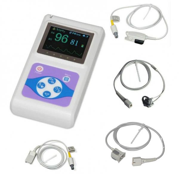 Pulsoximetru profesional Contec CMS60D, senzor adulti, pediatric si neonatal, cablu de extensie [0]