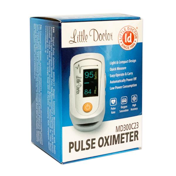 Pulsoximetru Little Doctor MD300C23, indica nivelul de saturatie a oxigenului din sange, masoara rata pulsului 4