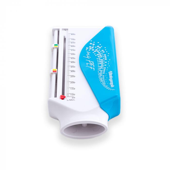 Spirometru portabil Vitalograph myPEF, pentru copii si adulti, scala reglabila, carcasa de protectie [1]