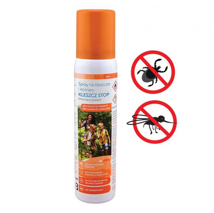 Spray impotriva tantarilor si capuselor Sanity Stop, pentru copii de la 3 ani, 100 ml 2