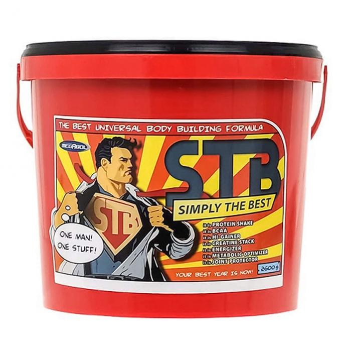 Supliment de proteine Megabol STB Simple The Best 2600 g, pentru cresterea masei musculare 3