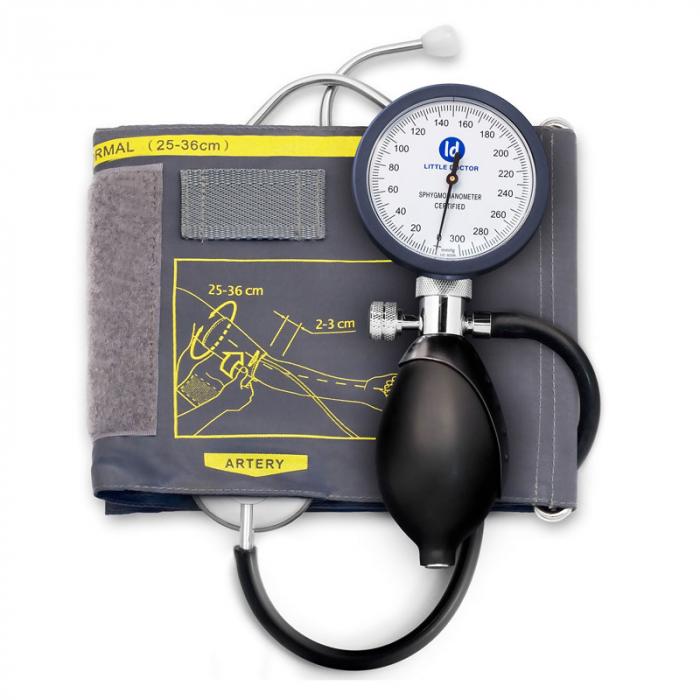 Tensiometru mecanic Little Doctor LD 81, stetoscop inclus, Manometru mare, Spatiu pentru stetoscop, Utilizare stanga-dreapta 2