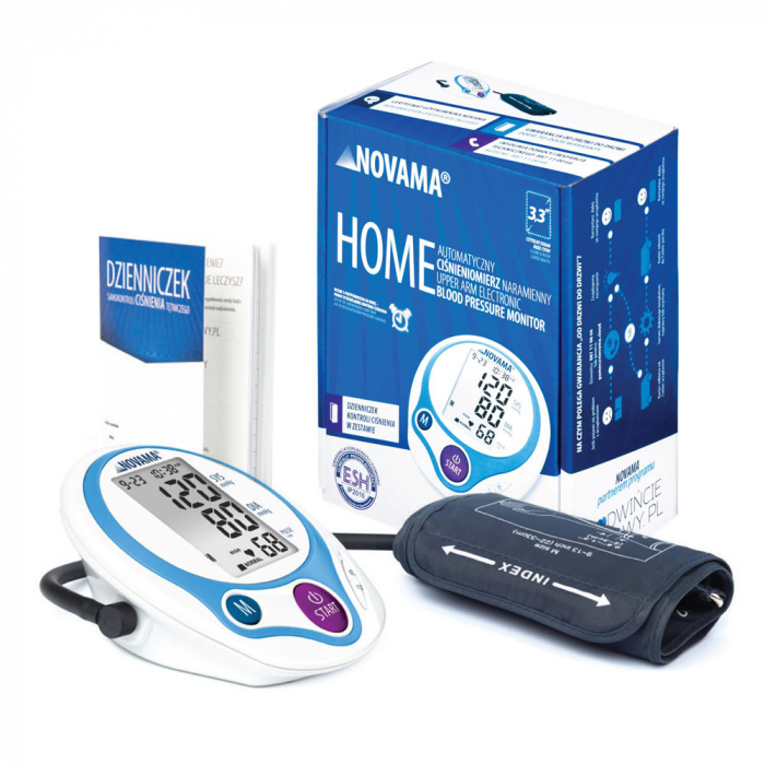 Tensiometru electronic de brat Novama Home, medie 3 masuratori, memorare 60 de valori 4