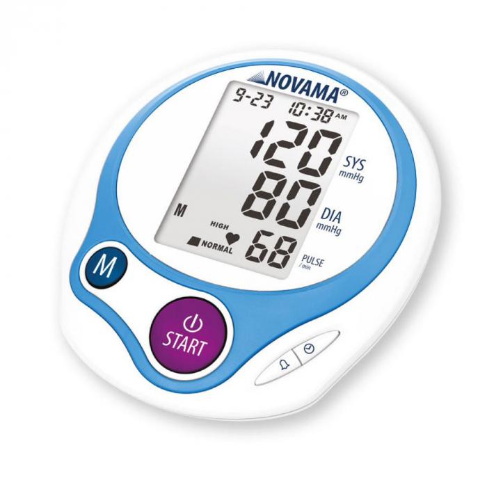 Tensiometru electronic de brat Novama Home, medie 3 masuratori, memorare 60 de valori 0