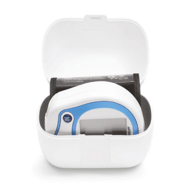Tensiometru electronic de incheietura Novama Wrist Home, detectare aritmie, medie 3 masuratori, cutie de transport 1