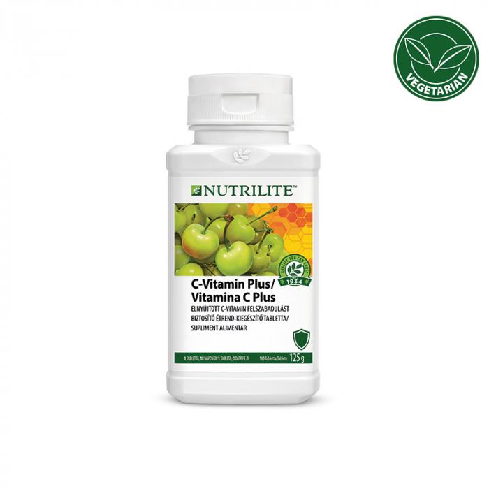 Vitamina C Plus Amway NUTRILITE, 180 buc [0]