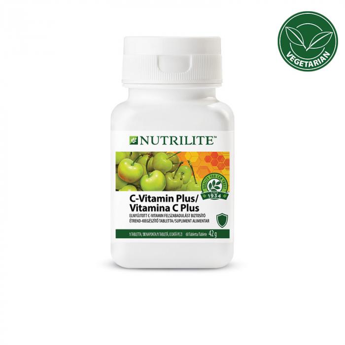 Vitamina C Plus Amway NUTRILITE, 42 g, 60 buc [0]