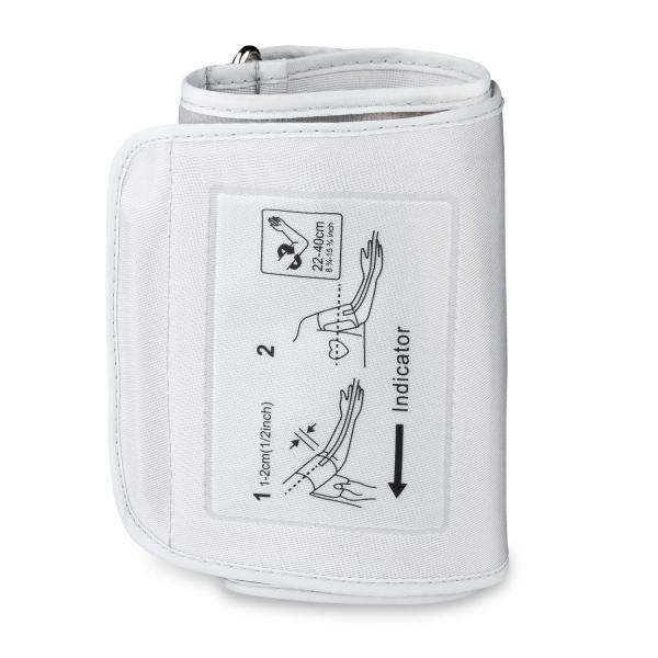 Tensiometru electronic de brat VITAMMY Next 5, mufa USB, detectare aritmie, detectie miscarea corpului, manseta 22-40 cm, Alb 5