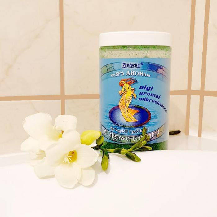 Sare termala cu alge Zablocka pentru baie si peeling, 400 g [4]