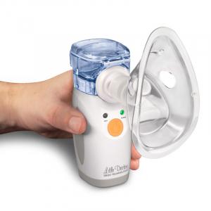 Aparat aerosoli portabil Little Doctor LD 207U, cu ultrasunete si tehnologie mesh3