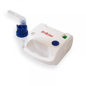 Aparat aerosoli RedLine NB-230C PRO, masca copii si adulti, kit PRO cu furtun de 6m si masca bebelusi, nebulizator cu compresor2