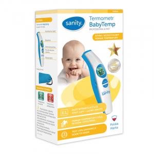 Termometru de frunte, fara contact cu scanare infrarosu Sanity BabyTemp [2]