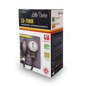 Tensiometru mecanic Little Doctor LD 70NR, profesional, manseta LARGE 25 - 40 cm, fara stetoscop, manometru din metal3