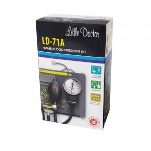 Tensiometru mecanic Little Doctor LD 71A, profesional, stetoscop atasat, manometru din metal1