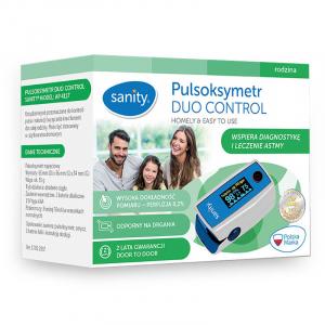 Pulsoximetru Sanity Duo Control, copii 3 ani + si adulti, masoara nivelul de saturatie a oxigenului si rata pulsului, Ecran OLED5
