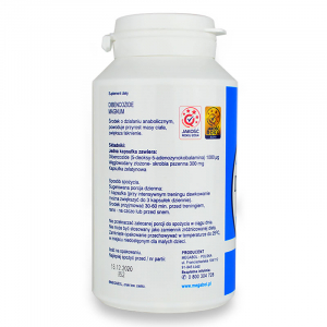 Capsule Megabol DIBENCOZIDE MAGNUM 1000 mcg, 100 cps, anabolizant puternic1