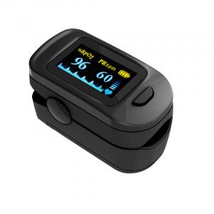 Pulsoximetru RedLine FS20C, negru,  indica nivelul de saturatie a oxigenului, masoara rata pulsului2