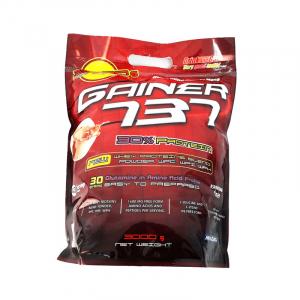 Supliment de proteine Megabol Gainer 737, 3 kg, gainer puternic si complex pentru cresterea masei musculare1