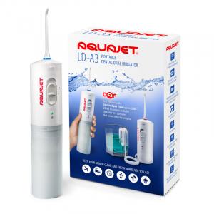 Irigator bucal Little Doctor Aquajet LD A3 pentru adulti, profesional, 1500 impulsuri/min, 2 duze, alb0