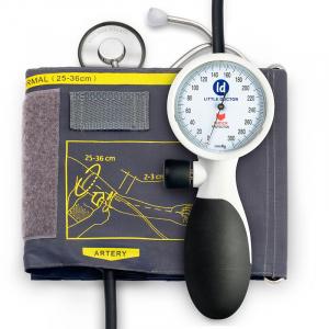 Tensiometru mecanic de brat Little Doctor LD 91, profesional, rezistent la socuri, stetoscop inclus0