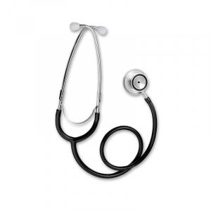 Stetoscop Little Doctor LD Prof I, stetoscop metalic utilizabil pe ambele parti, diafragma mare, Negru/Inox2