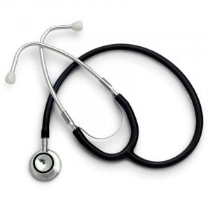 Stetoscop Little Doctor LD Prof II, stetoscop metalic utilizabil pe ambele parti, diafragma mica, Negru/Inox1