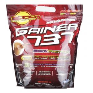 Supliment de proteine Megabol Gainer 737, 3 kg, gainer puternic si complex pentru cresterea masei musculare0