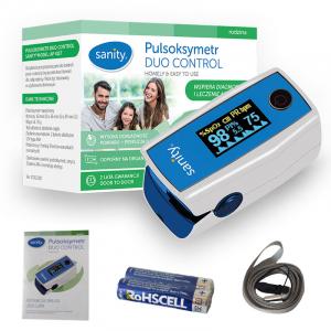 Pulsoximetru Sanity Duo Control, copii 3 ani + si adulti, masoara nivelul de saturatie a oxigenului si rata pulsului, Ecran OLED [3]