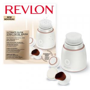Perie electrica pentru fata REVLON Ultimate Glow Sonic RVSP3538E, vibratii sonice [3]