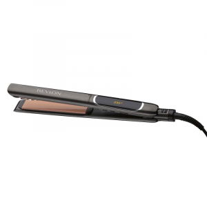 Placa de indreptat parul REVLON Salon Straight Copper Smooth RVST2175E, afisaj LCD1