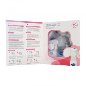 Pompa manuala de san Sanity Easy Comfort, cu clapeta, biberon si tetina BPA free2